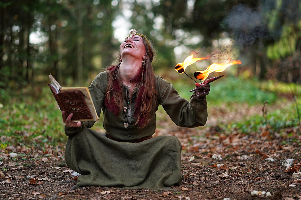 Daily practice can be done subtly or in the best magick regalia with tons of candles lit since it is up to the witch and the mood they may be in but it should be something that is never forgotten.