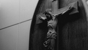 Arms Stretched Out On The Cross; Stretched Between Heaven And Earth