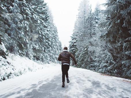 RUNNING IN WINTER IN CANADA