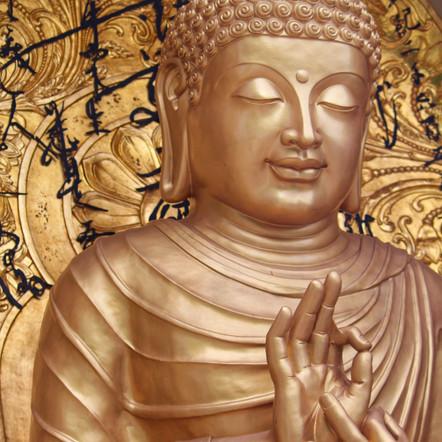 Smile like a buddha