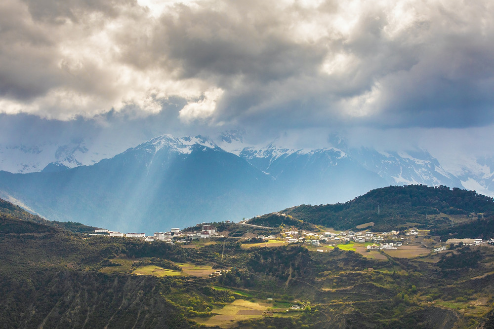Yunnan natural scenery
