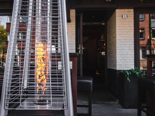 Nέα Ενίσχυση για τις επιχειρήσεις εστίασης - Θέρμανση για εξωτερικούς χώρους