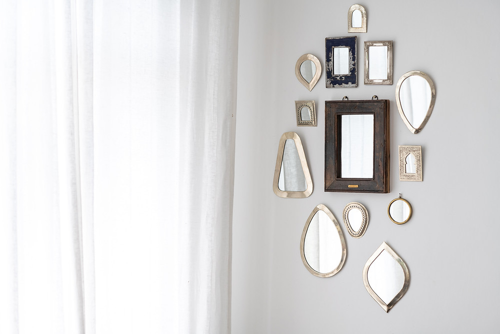 add more light with mirrors