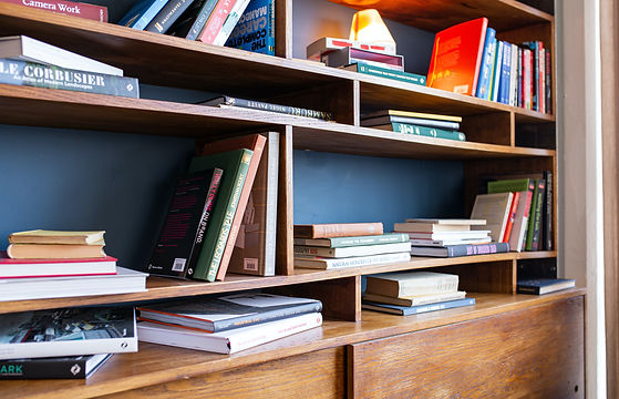 books with custom office furniture