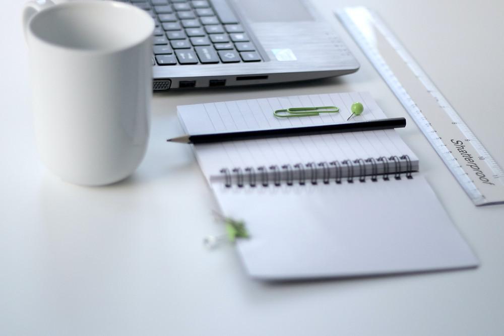 Laptop, Notebook, Stift