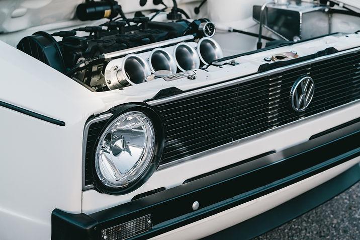 Gio's Walnut blasting blog VW engine