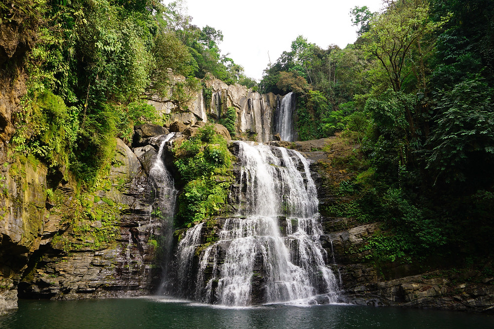 Nauyaca waterfalls in Dominical, Costa Rica
