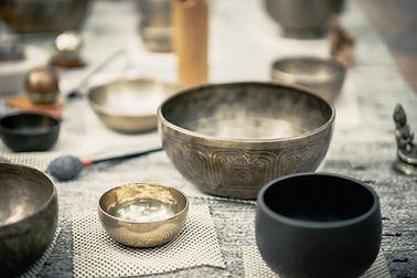 Les bols Tibétains thérapeutiques par Nathalie Kopff