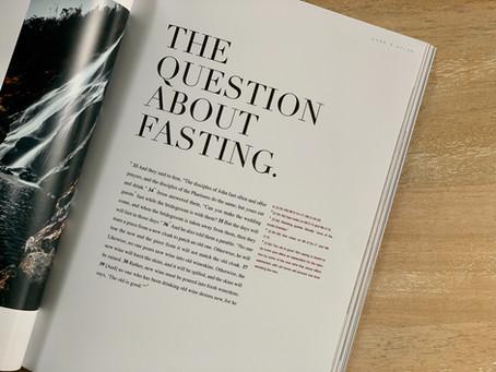 Fasting Worksheet