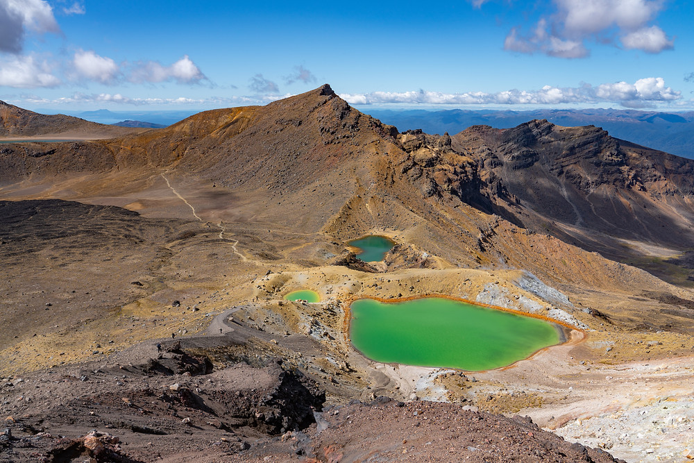 tongariro hike in new zealand is one of the world's best