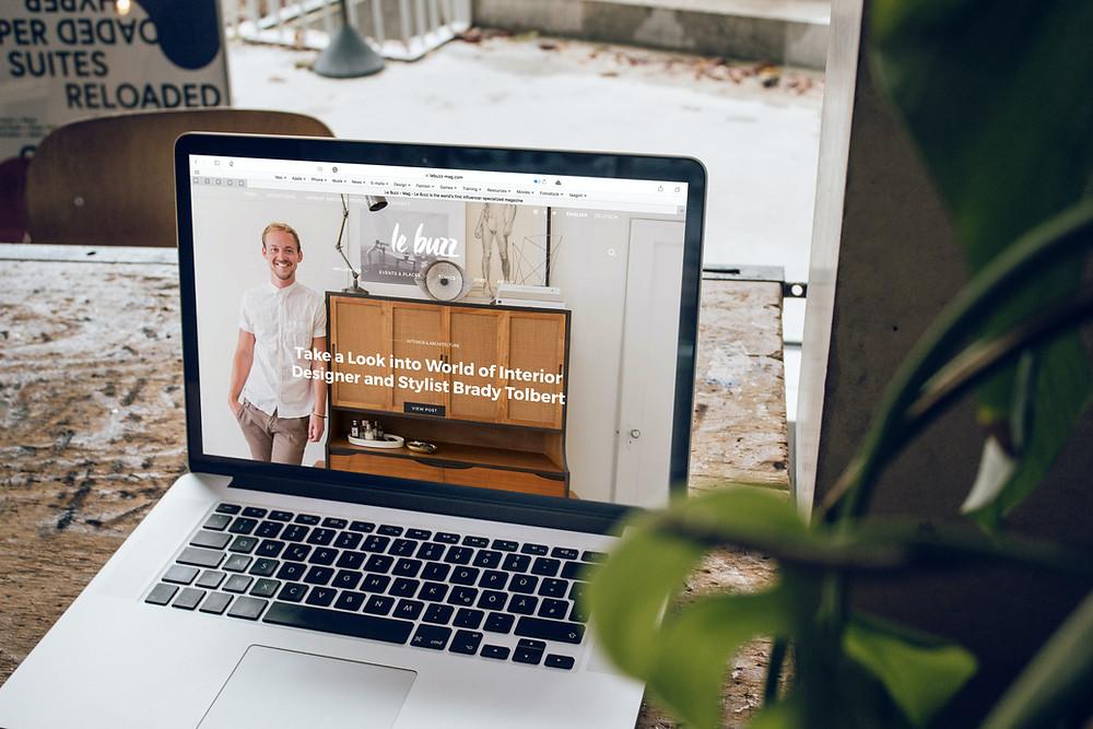 Website for Online Marketing