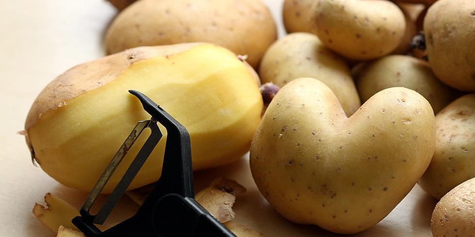Online: Kartoffelkochkurs - Eine runde Sache
