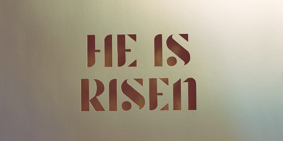 Easter Sunday 10:30 am (in person event)