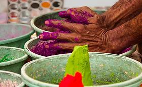 India dye