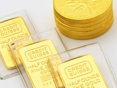 Gold catches a bid from Central Banks