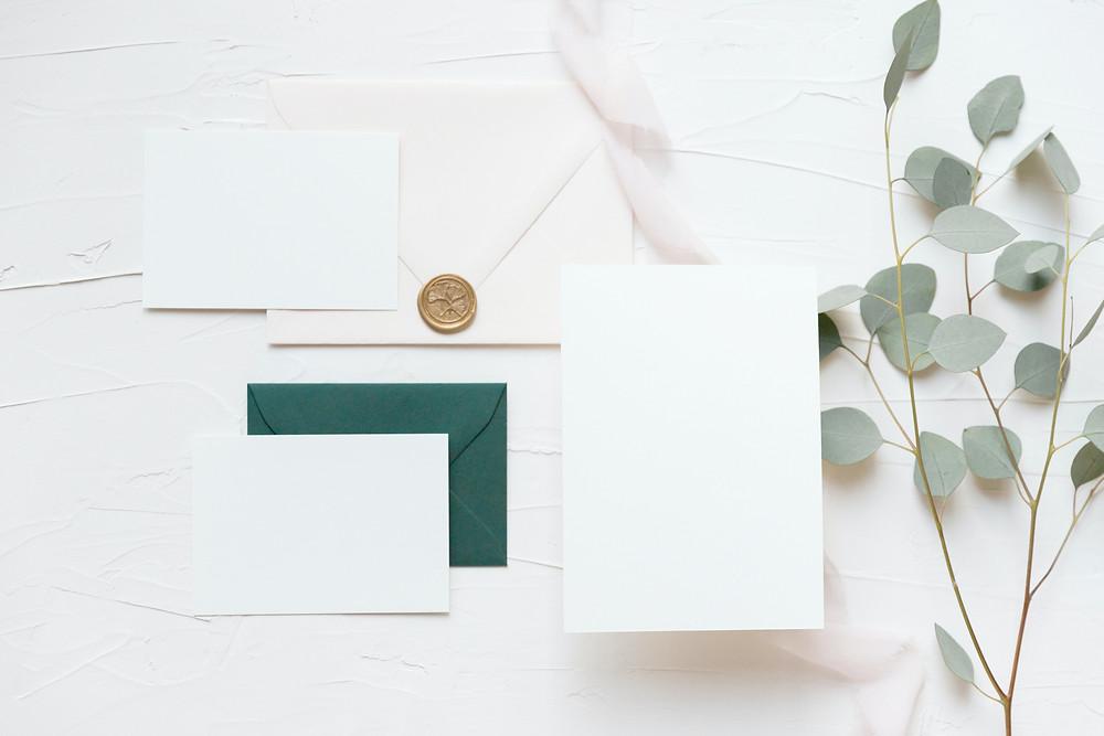 swoop marketing earthy, neutral branding materials