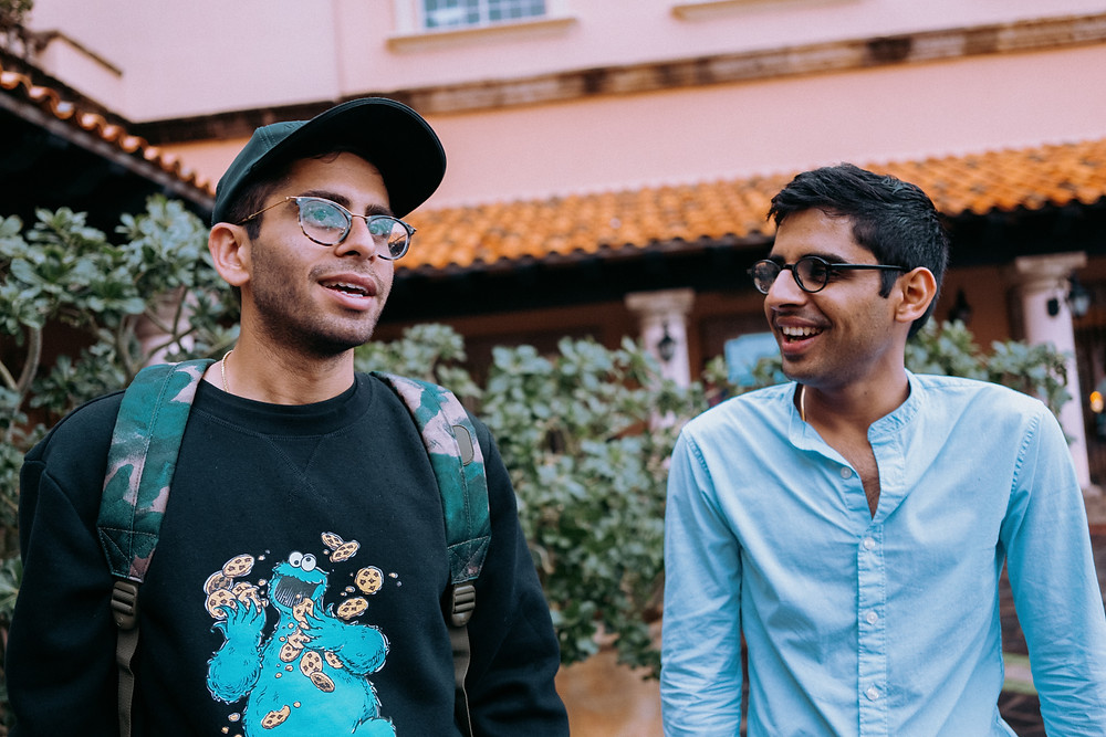 two south asian brothers