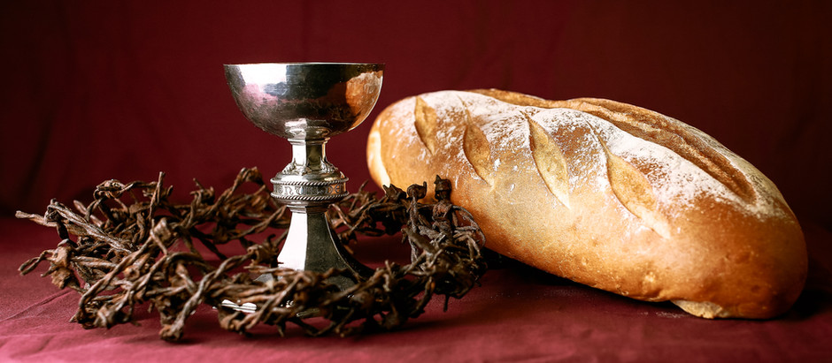 Holy Thursday Service - in person,  April 2nd: 6:00 p.m.