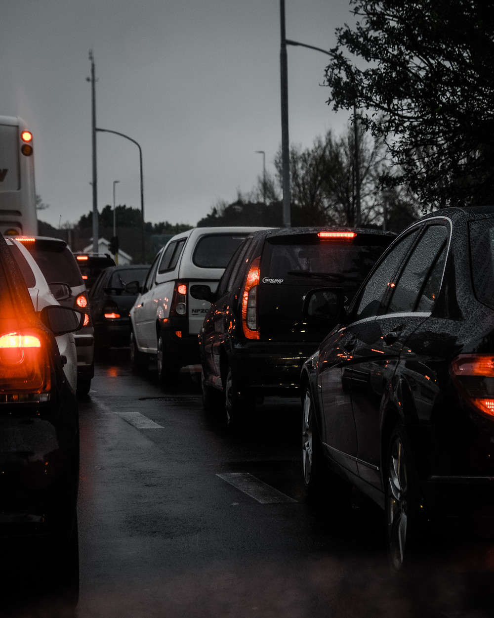 Solution to traffic jam? Close the road!