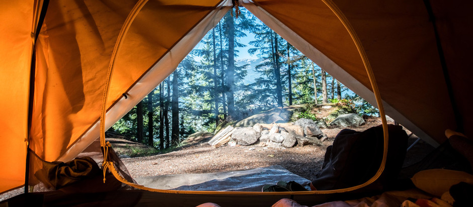 How to set up a comfortable campsite?