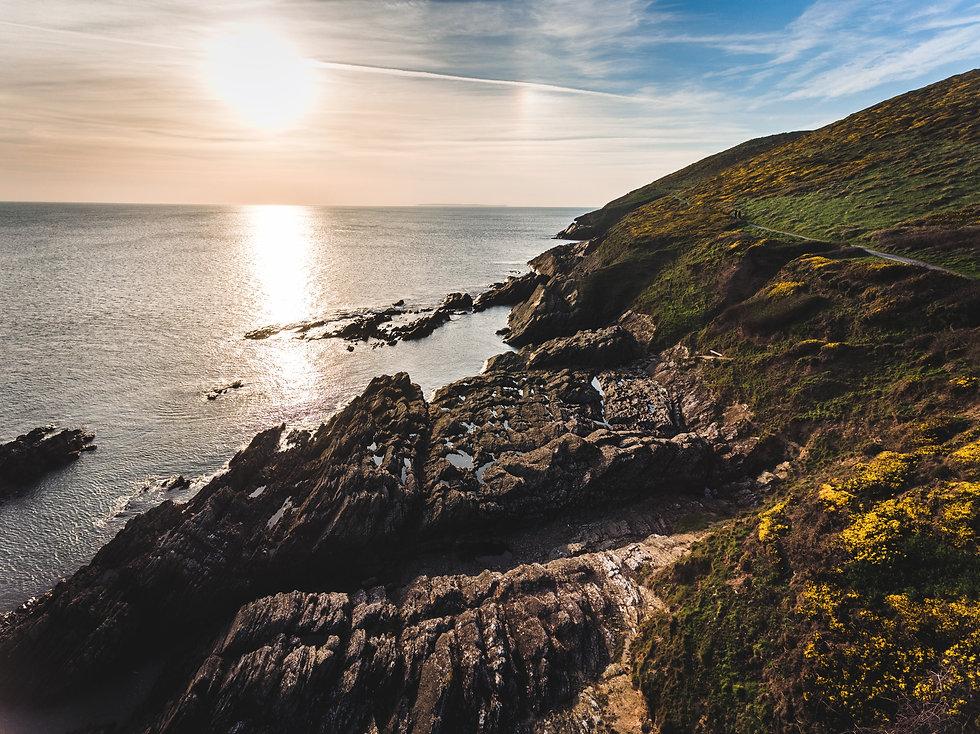 Croyde coastline, North Devon