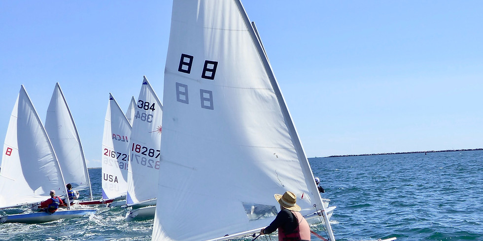 JUNIOR LEARN TO SAIL SESSION 4:  JULY 12 - JULY 15, 2021 (1)