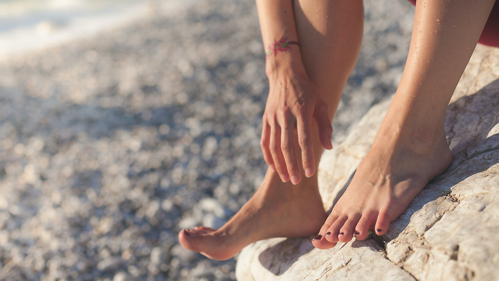 magnesium oil works well when you apply it to the soles of your feet