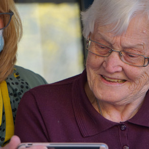 UK government guidance allows visitors to care homes