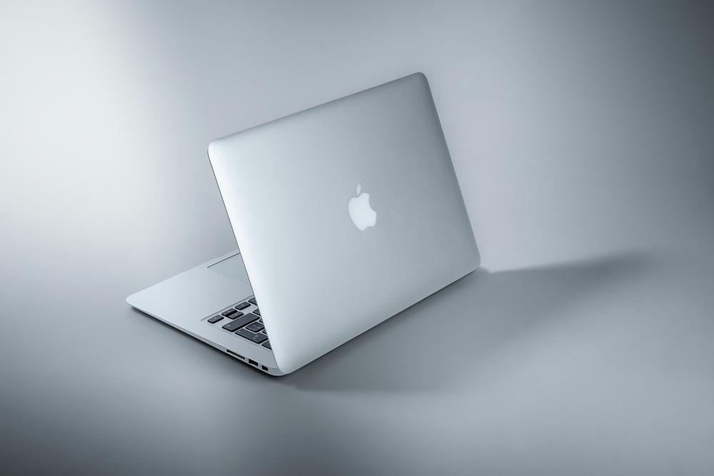 MacBook Air visto da dietro