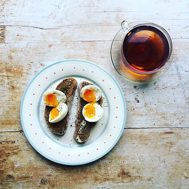 Toast and Boiled Egg