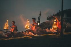 Evening Aarti on Ganges Varanasi