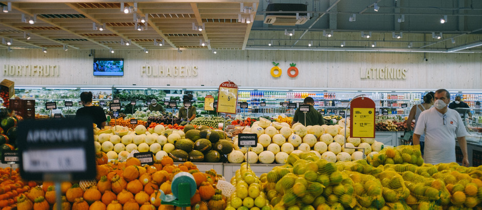 Top 4 Tips to Shop Healthy at The Grocery Store.