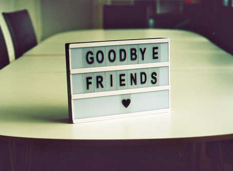 It's Hard to Say Goodbye