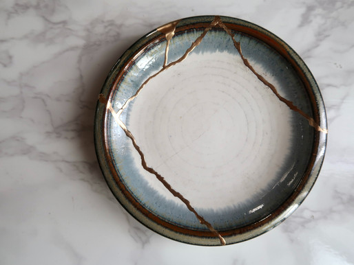 Kintsugi: the art of repairing pottery with gold