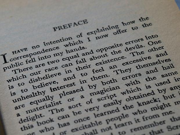 Book Preface