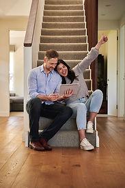 couple on iPad