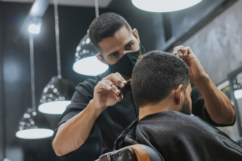 Scissors Haircut