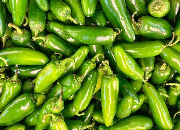 Green Jalapenos (per kg)