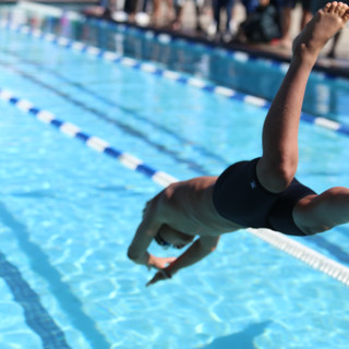Swimming is great cardio!