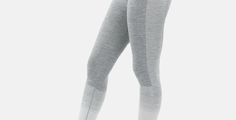 Grey & White Seamless Leggings